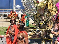 Caribana parade participants, 2006.