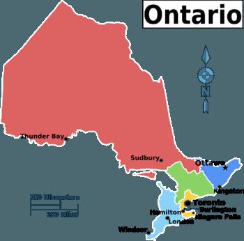 Ontario regions